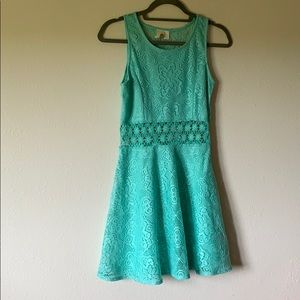 Turquoise sun dress
